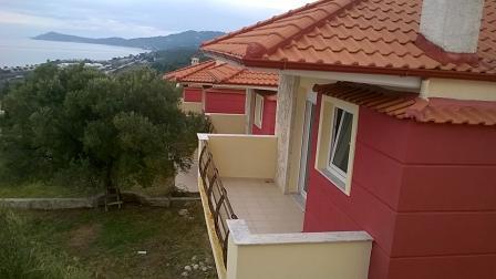 Μπαρμπούσι Ν. Σκιώνη Χαλκιδικής Θέα