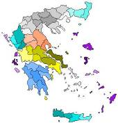 Greece Select by region